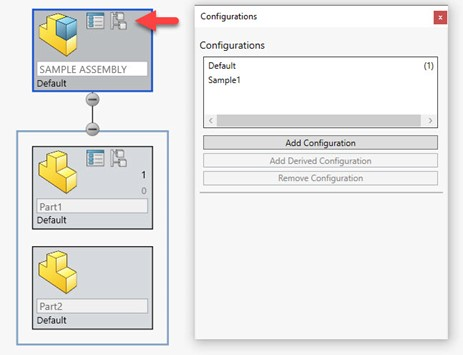 Add Configurations with SOLIDWORKS Treehouse