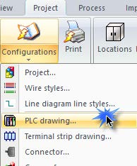Adding a PLIC Drawing Configuration in SOLIDWORKS Electrica