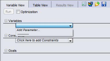 Add Variables and Add Parameter in SOLIDWORKS Simulation