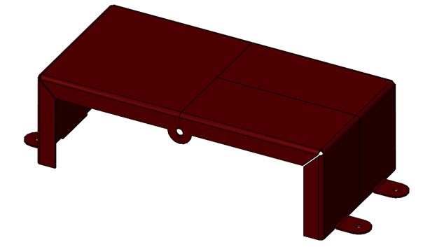 Automatic Symmetry Split for SOLIDWORKS Parts