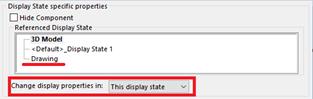 Change Display Properties in SOLIDWORKS