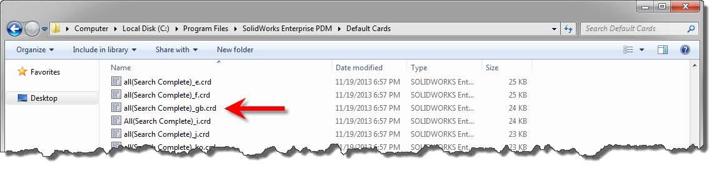 Complete Search form Enterprise PDM