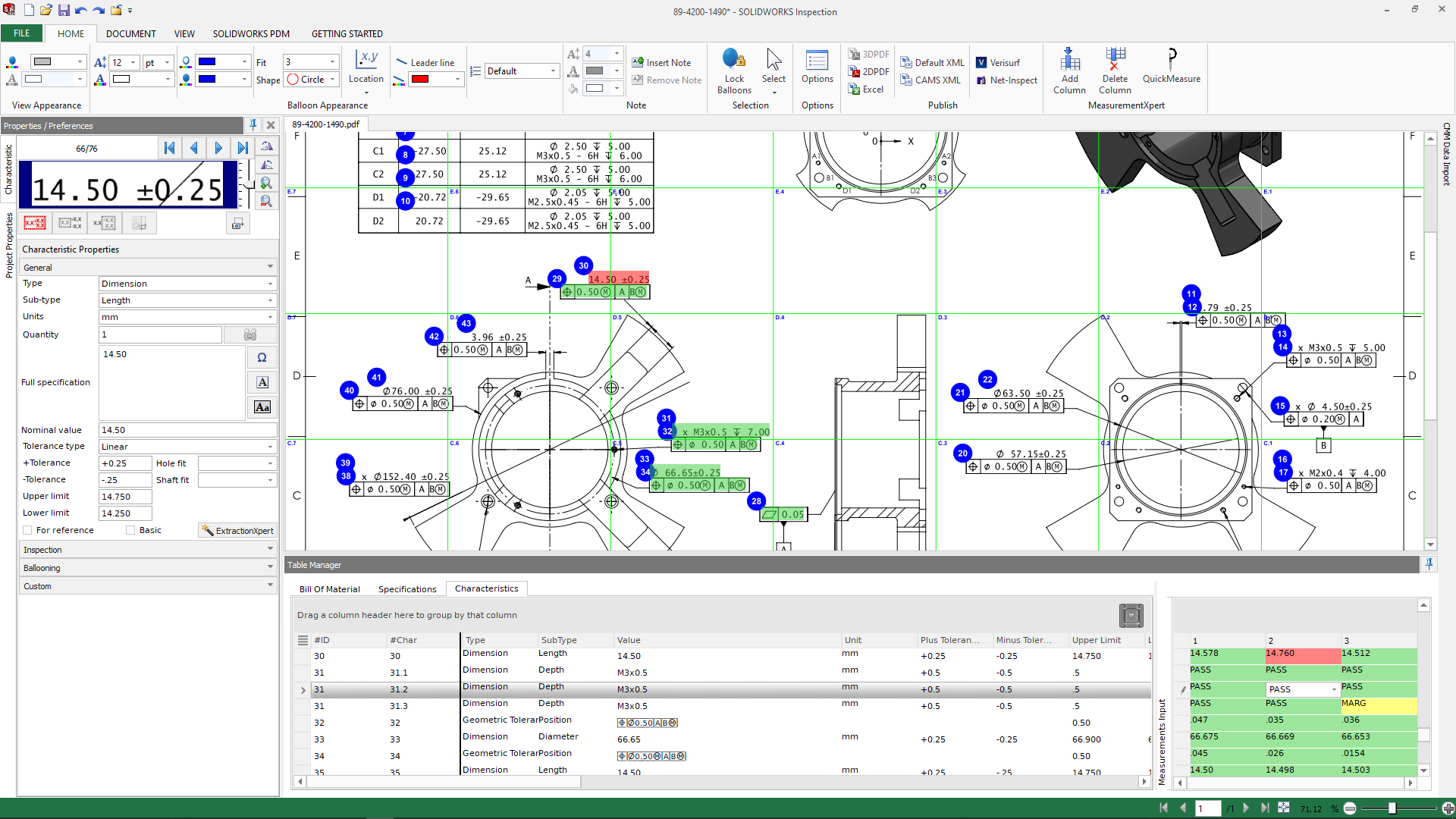 Learn How to Consolidate Reports with SOLIDWORKS Inspection