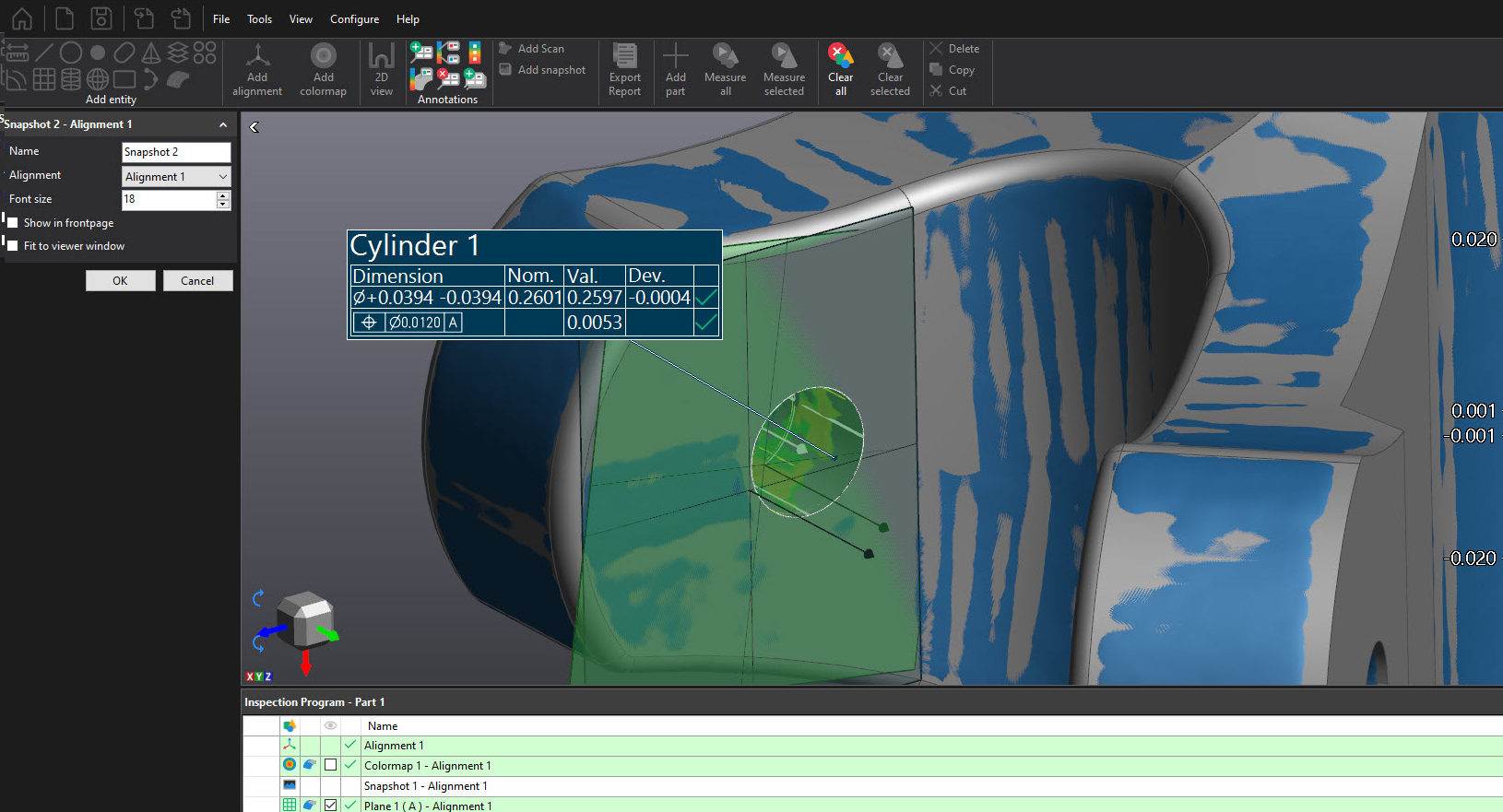 Learn More About the Creaform VX Inspect GD&T Support