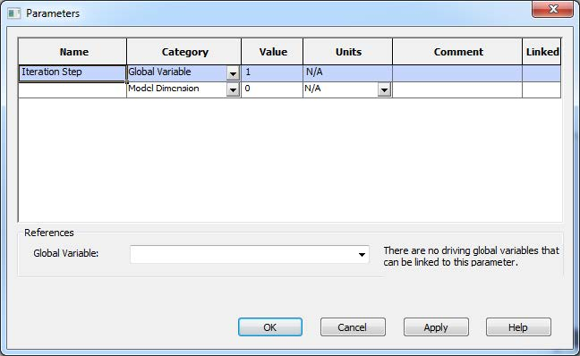 Create a New Parameter in SOLIDWORKS Simulation
