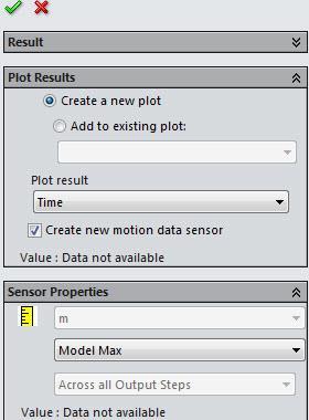Create New Plot SOLIDWORKS Design Study