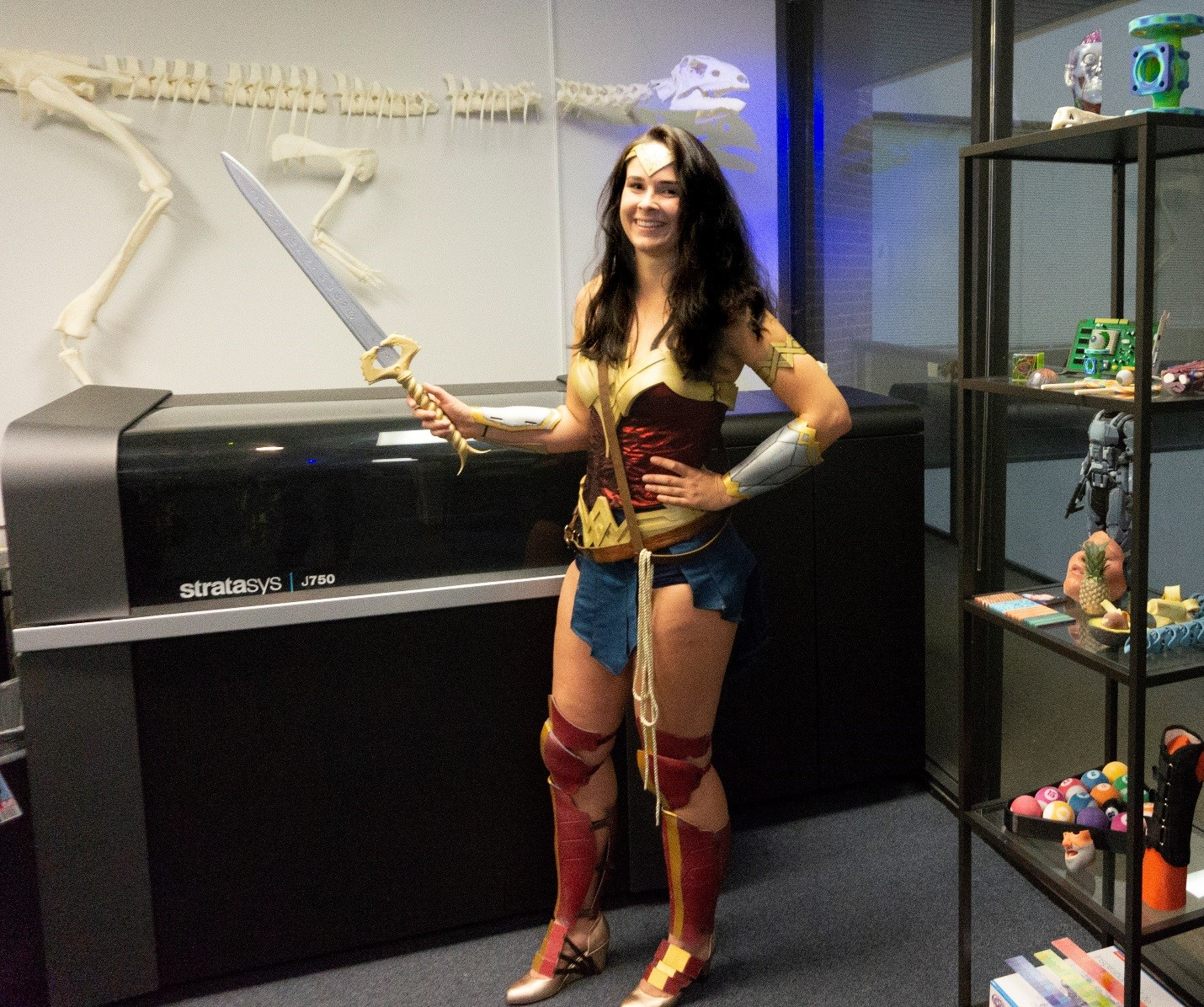 Custom Made Wonder Woman Costume