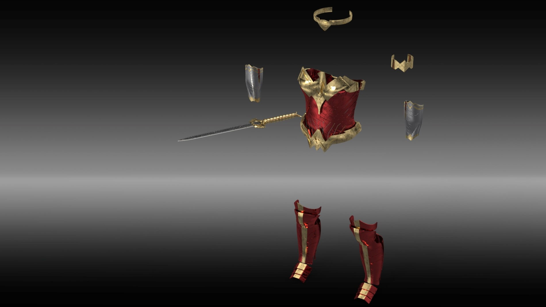 Custom Wonder Woman Costume Using SOLIDWORKS, 3D Printing, and 3D Scanning