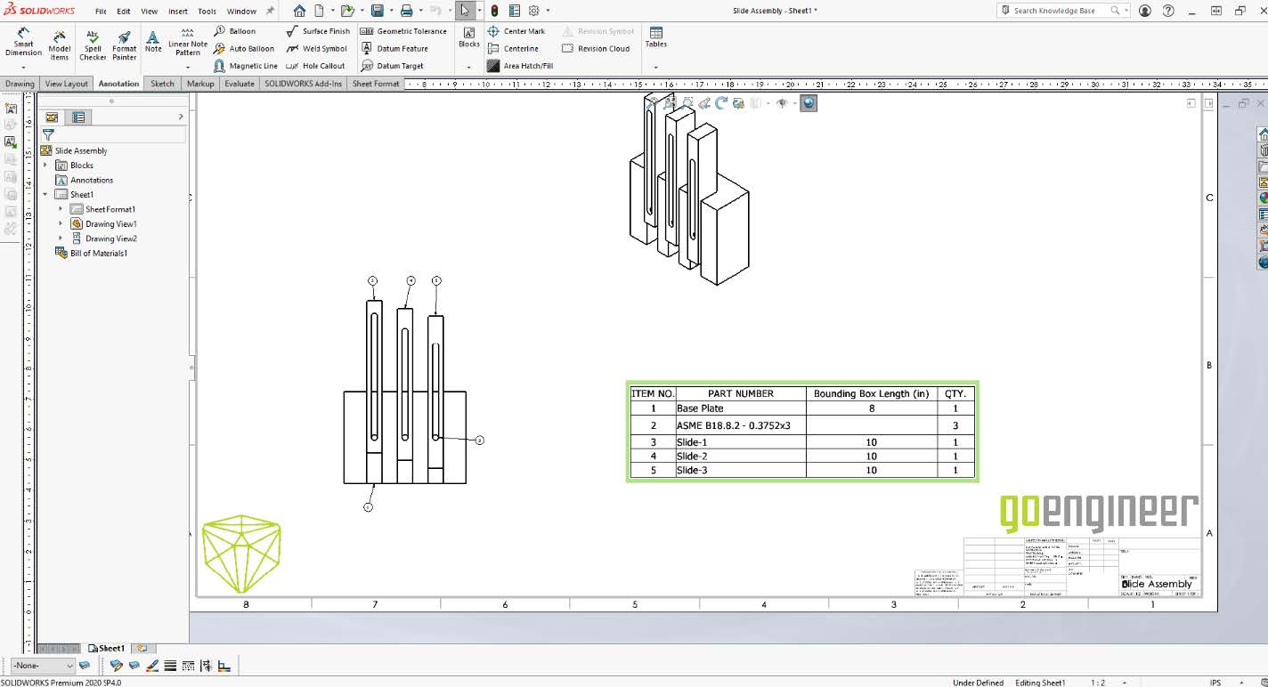 Custom Property Required SOLIDWORKS