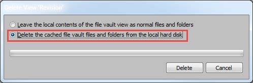 Delete Cached File Vault in SOLIDWORKS PDM