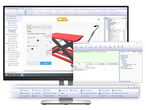 How to design your DriveWorks sales configurator