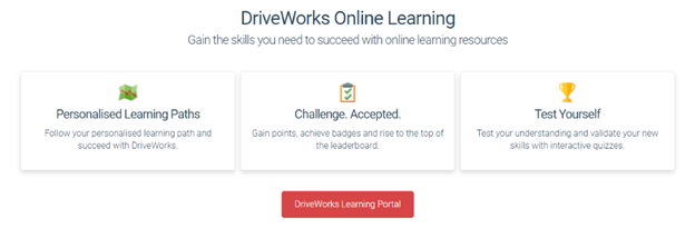 DriveWorks Online Learning