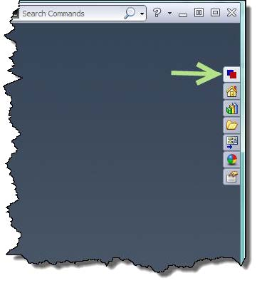 DriveWorks Tab on the SOLIDWORKS Task Pane