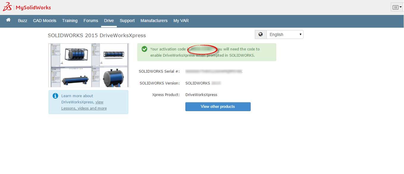 DriveWorksXpress Activation Code