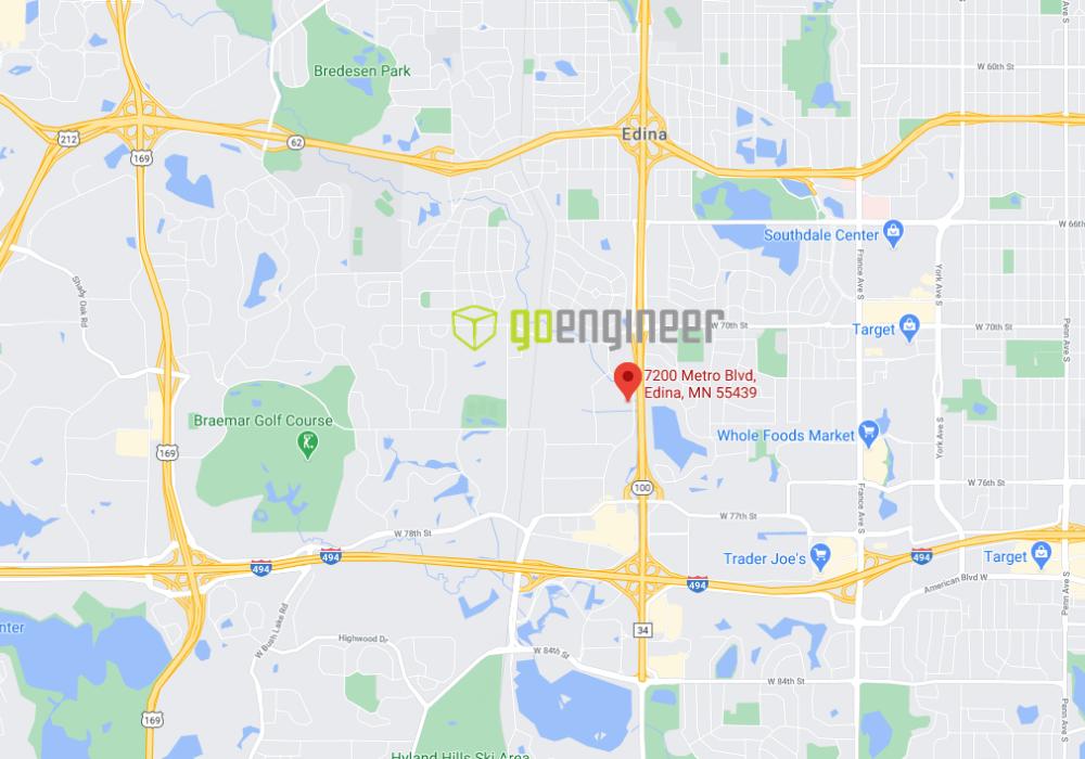 GoEngineer Edina, Minnesota Location Map Address