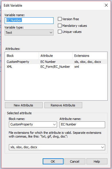 Edit Variable SOLIDWORKS PDM Excel as Form