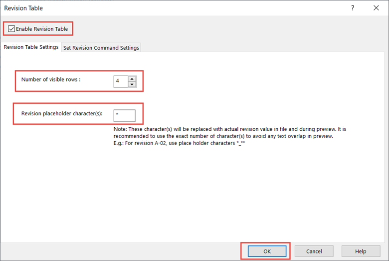 Enable Revision Table Features in SOLIDWORKS PDM