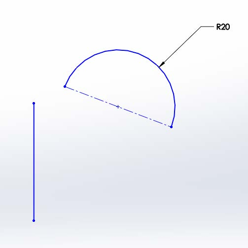 Example of Discontinuous in SOLIDWORKS