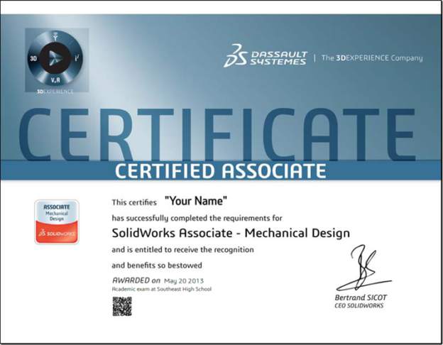 Free SOLIDWORKS Certification Codes