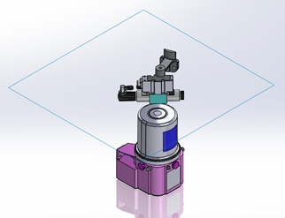 Hidden Lines Visible in SOLIDWORKS