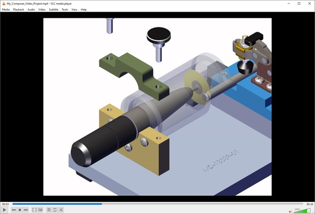 how to export high-quality video with SOLIDWORKS Composer