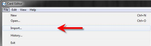 Import Complete Search form EPDM