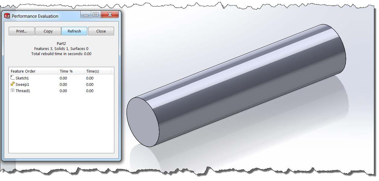 simplified configuration in SOLIDWORKS