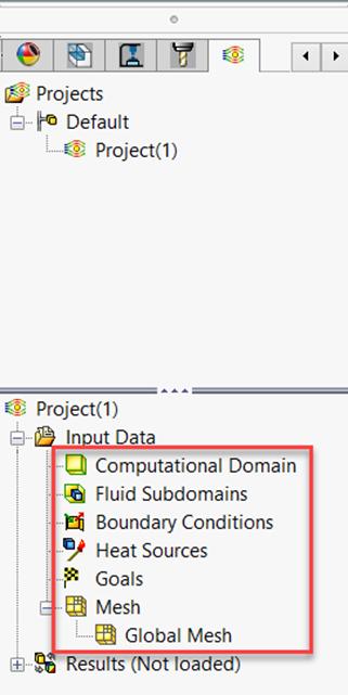Input Data Folder in SOLIDWORKS Flow Simulation