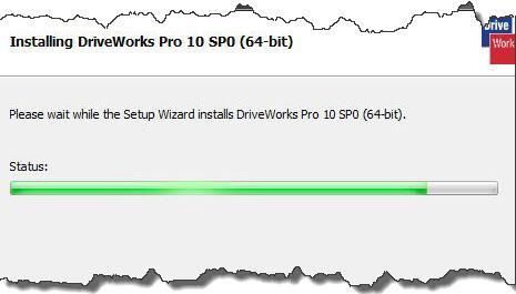 Installing DriveWorks Pro Status