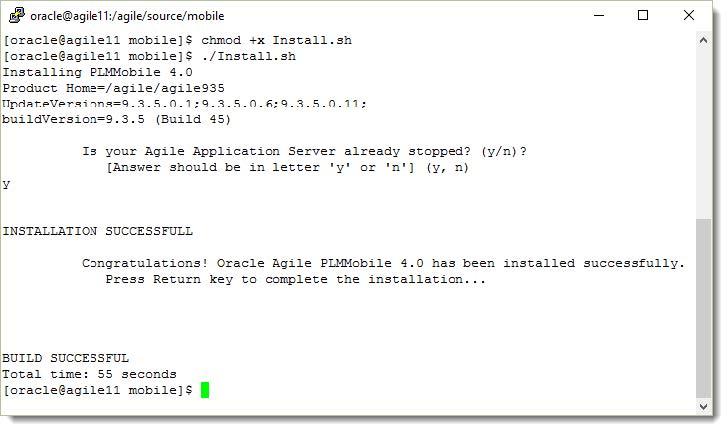 Installing PLM Mobile App Patch on Linux/Unix/Solaris/AIX Systems