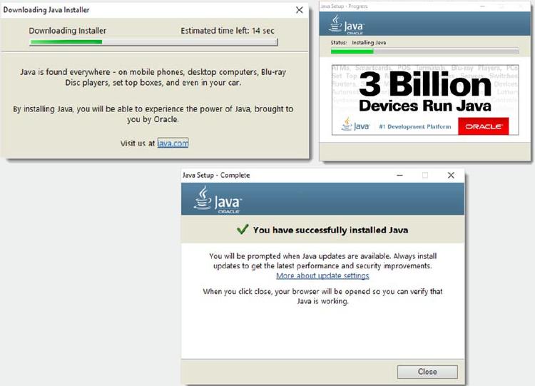 Java Installation Windows