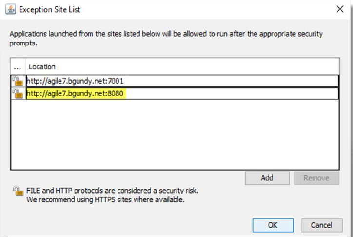 Java Security Settings File Attachments and AutoVue