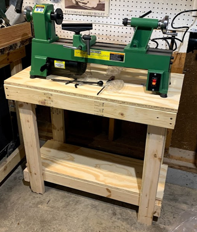 Lathe Stand Designed in SOLIDWORKS