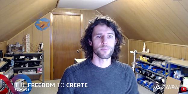 Matt Carney, Co-Founder Open Standard Respirator 3DEXPERIENCE World 2021