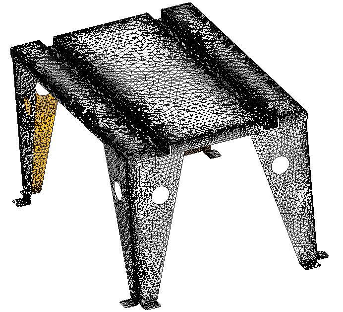 Meshing Sheet Metal Bodies in SOLIDWORKS Simulation