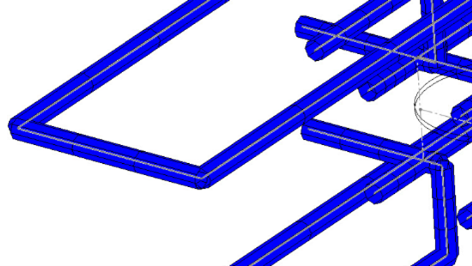 Meshing Sketch Based Cooling Channels in SOLIDWORKS 2021