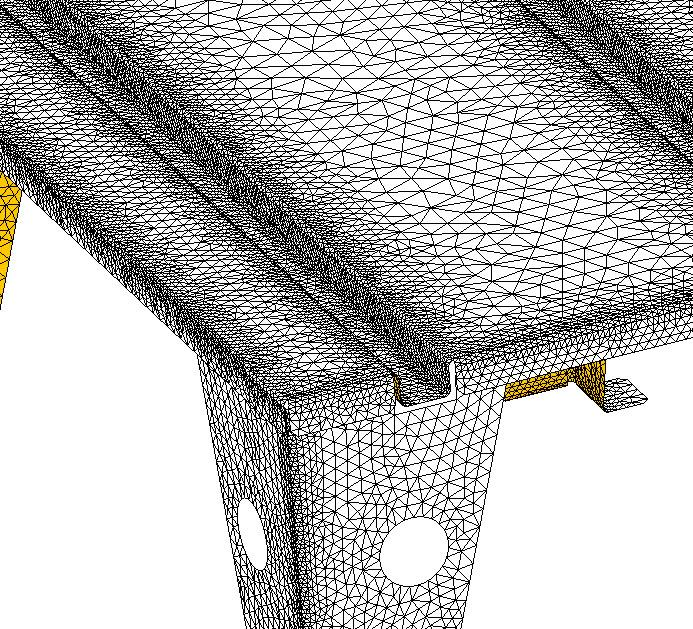 Meshing in SOLIDWORKS Simulation