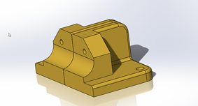 Mirrored Body in SOLIDWORKS