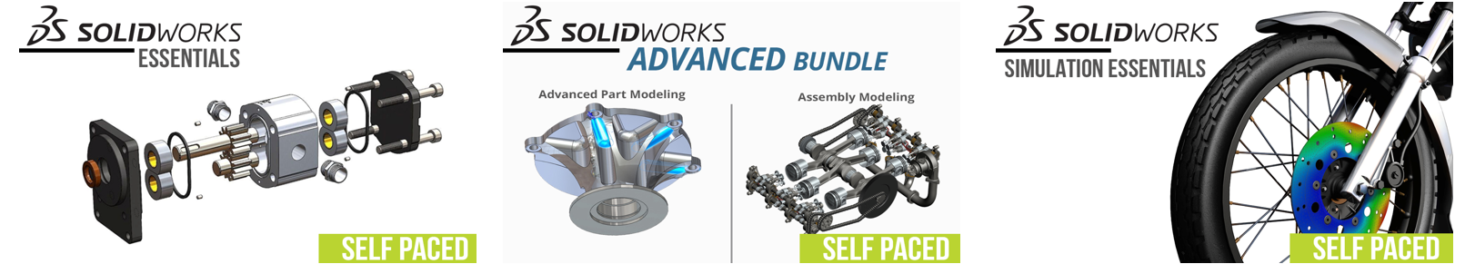 Most Popular Self-paced SOLIDWORKS Classes