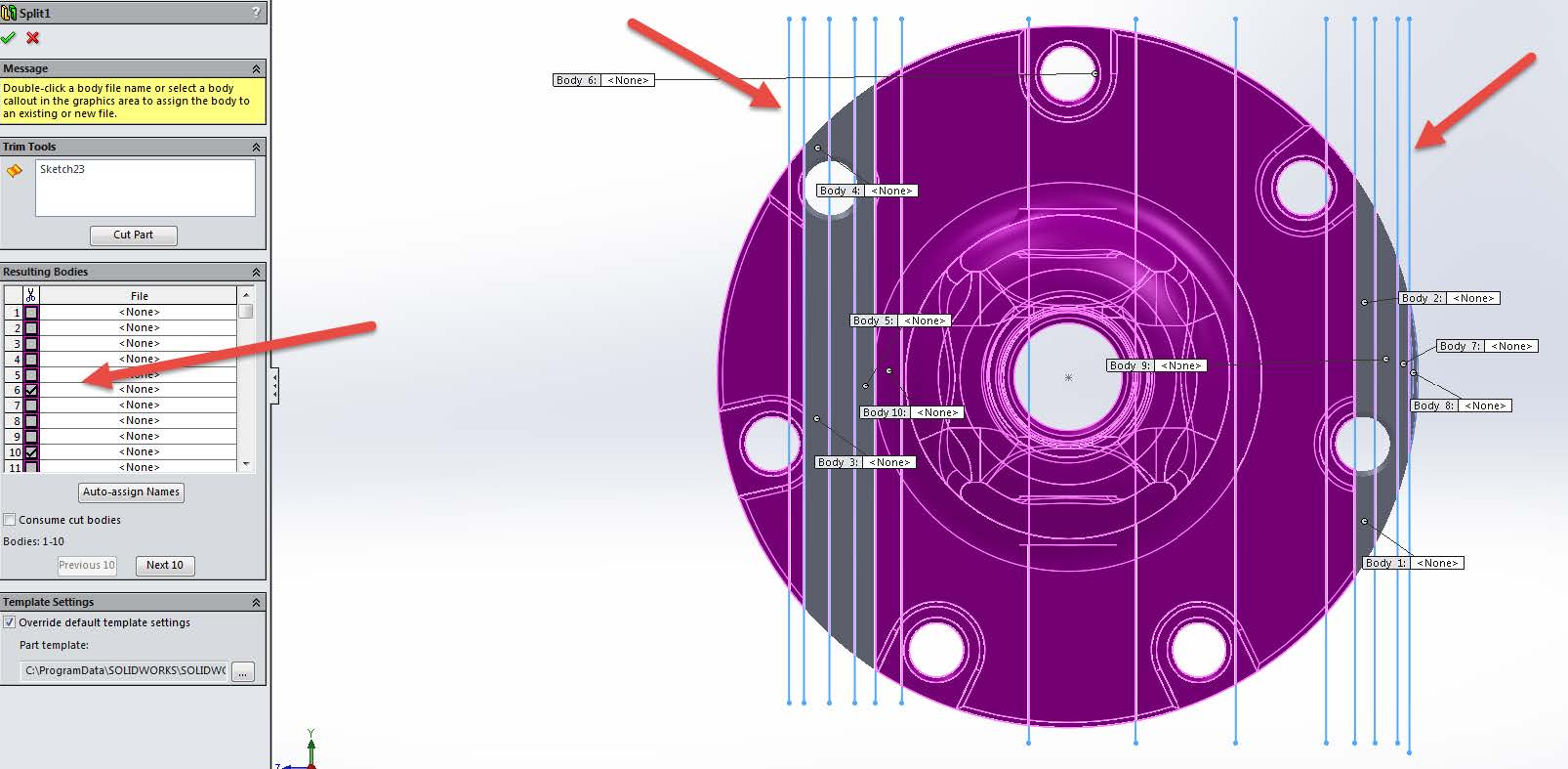 Non-Meshing Sections Troubleshooting SOLIDWORKS Simulation