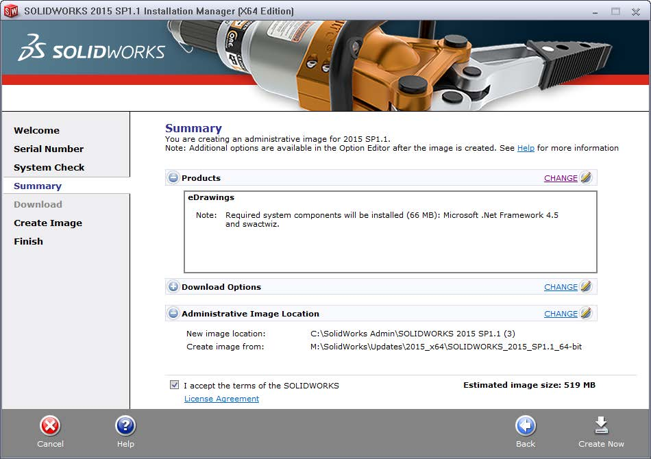 Product Summary for SOLIDWORKS Admin Image