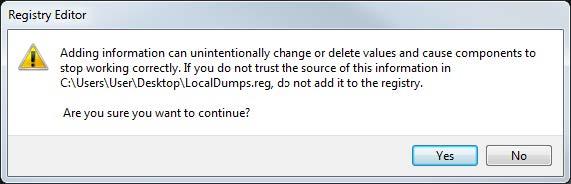 Registry Editor Error
