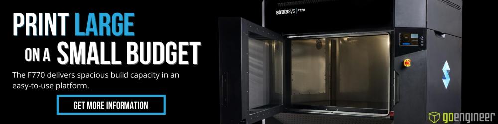 Get More Information Stratasys F770 3D Printer