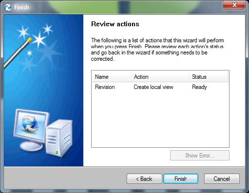 Review Actions Screen SOLIDWORKS PDM