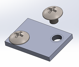 Shaded Assembly View in SOLIDWORKS