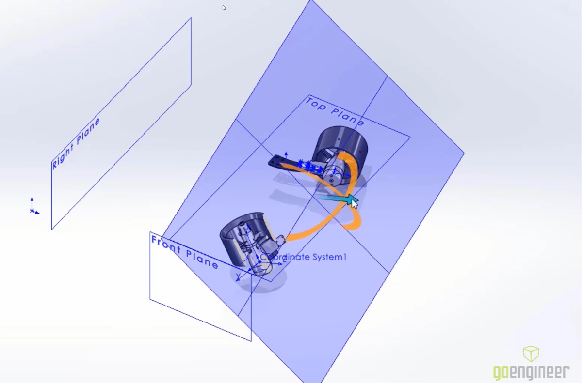 SOLIDWORKS 2022 Hidden Reference Geometry Shortcut