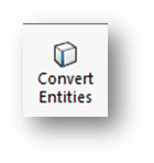 SOLIDWORKS Convert Entities Tool