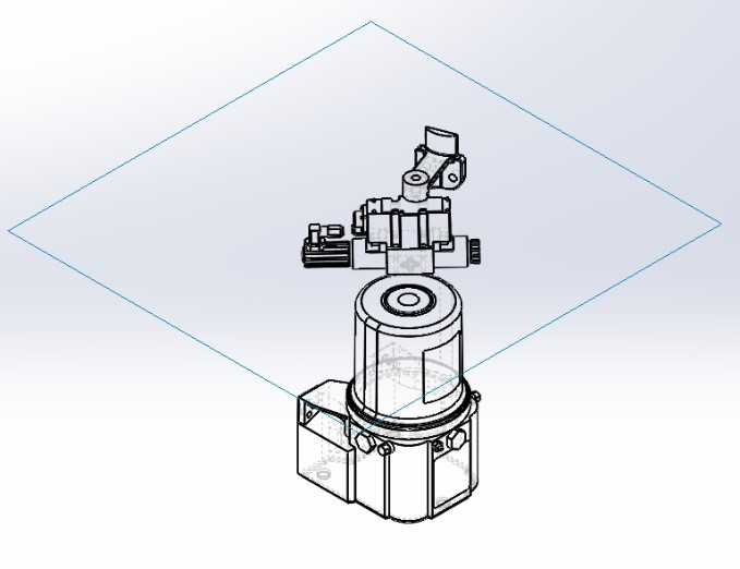 Example of a SOLIDWORKS Drawing