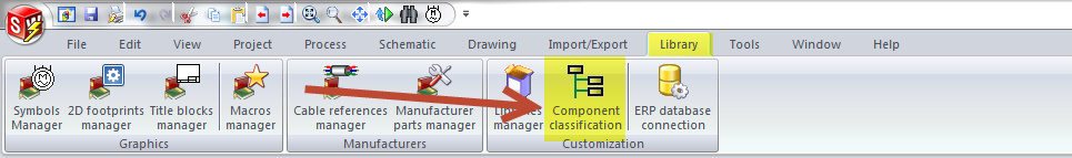 SOLIDWORKS Electrical Component Classification Option