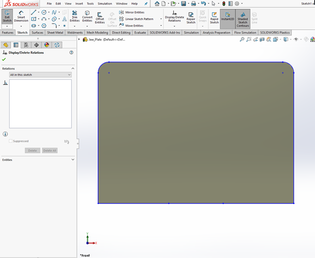 SOLIDWORKS External References Delete All Command
